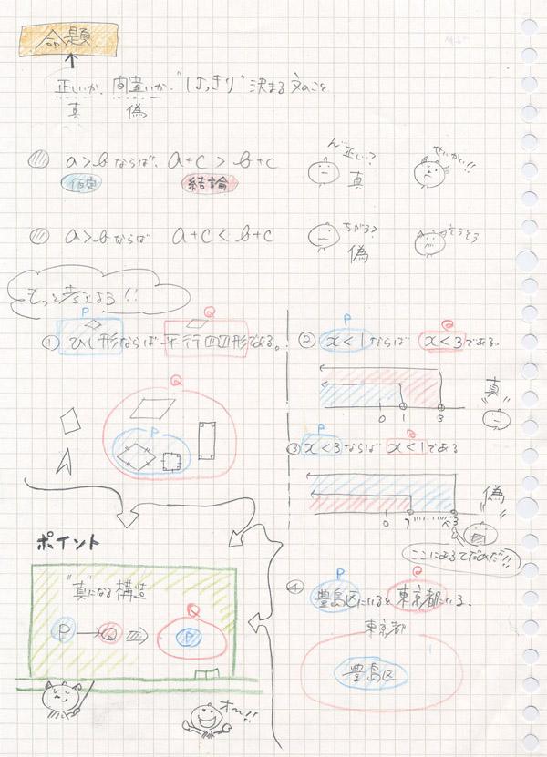 命題についてのノート