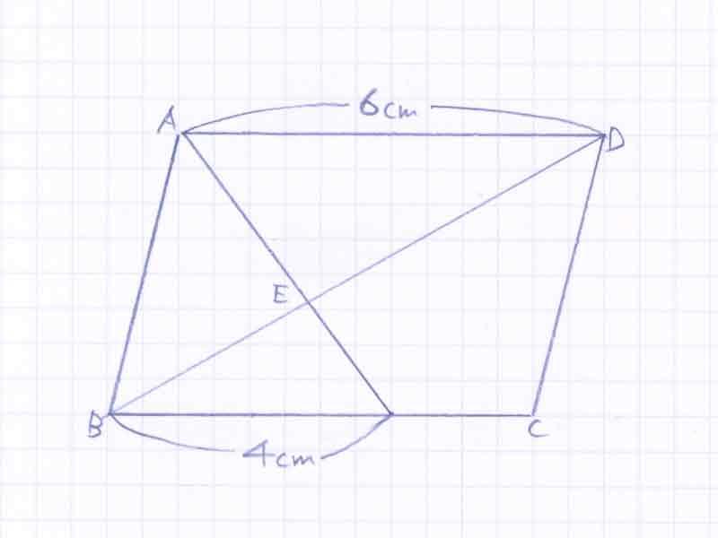 平行四辺形の面積比の問題解説01