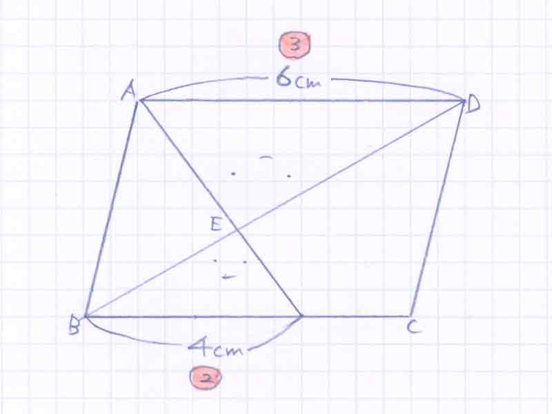 平行四辺形の面積比の問題解説02-1