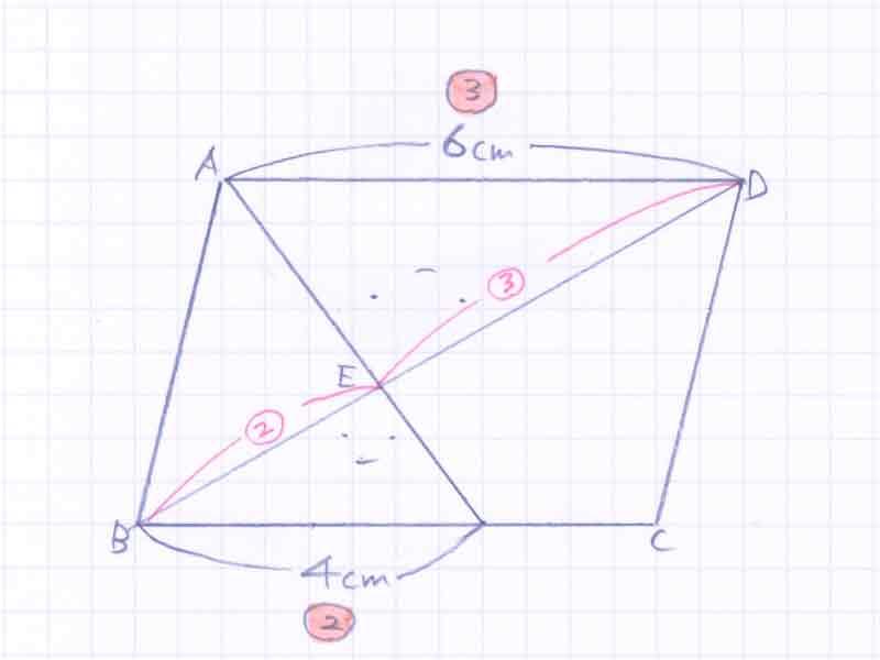 平行四辺形の面積比の問題解説02-2