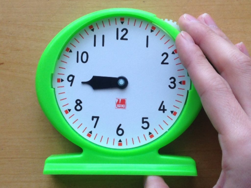 時計(短針)の読み方1
